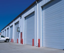 overhead doors on warehouse