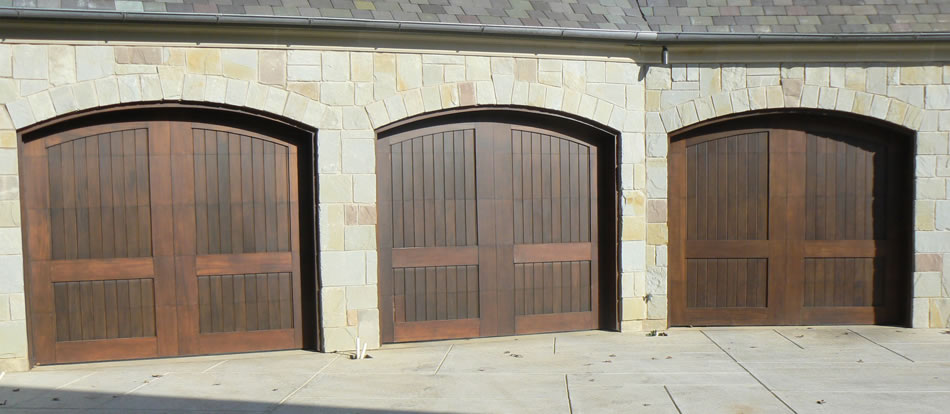 Custom garage doors austin garage door solutions for Best wood for garage doors