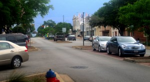 Round Rock historic downtown