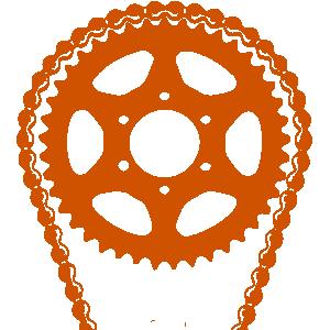 Garage Door Chain and Gear