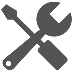Icon Wrench & Screwdriver